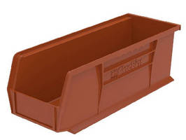 Storage Bins feature 100% recycled plastic.