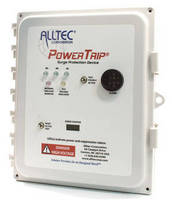 Surge Suppressors feature audible alarm and transient counter.