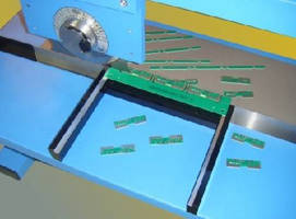 PCB Guide Rails facilitate depaneling process.