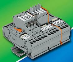 Terminal Blocks accommodate 20-8 AWG conductors.