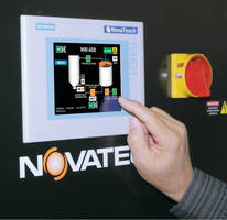 Color Touch Screen Now Standard on All Medium and Large Novatec NovaWheel Dryers