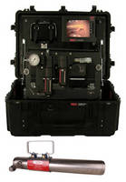 Portable Furnace Camera allows real-time, color video inspection.