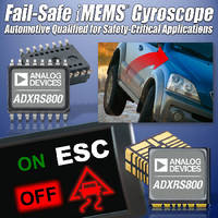 Fail-Safe Gyroscope is immune to shock and vibration.
