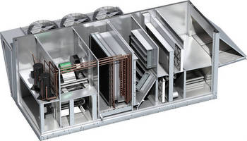 Configurable Ventilator System serves rooftop applications.