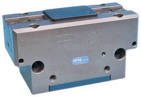 Dual-Finger Parallel Grippers have heavy-duty T-slot design.