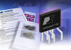 Power Integrations' LinkSwitch(TM)-PH Delivers Flicker-Free TRIAC Dimming for LED Downlights