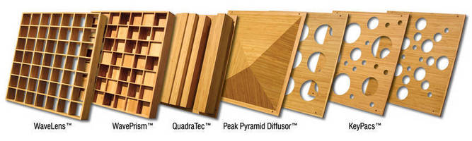 Auralex Introduces Sustain Bamboo Sound Diffusor Series at CEDIA 2011