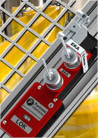 Extracted Key Adapter restricts access to moving machinery.