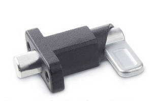 Square Spring Latches have flange for surface mounting.
