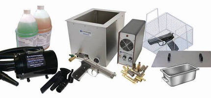 Ultrasonic Cleaning Machine is designed for firearms.