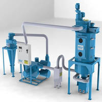 PET Crystallizing System provides automated operation.