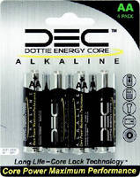 L.H. Dottie Launches New Dottie Energy Core(TM) Alkaline Battery and Merchandising Program
