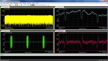 Signal Analyzer/Digitizer captures signals up to 100 MHz.