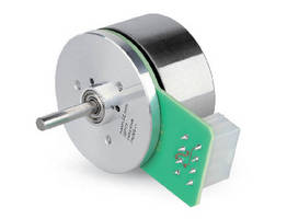 Brushless DC Motor offers various gear and encoder options.