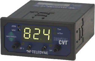 Vacuum Gauge Controllers provide linear analog outputs.
