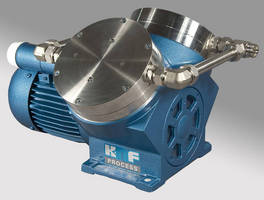 Diaphragm Process Pump offers water-cooled head option.