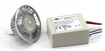 LED Lamp and Driver Package offers luminous efficacy of 70.
