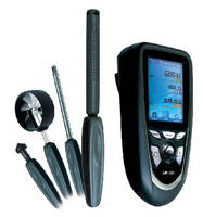 IAQ Tester features portable, multifunction design.