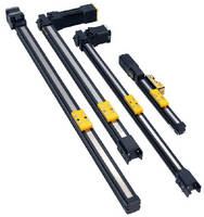 Miniature Linear Positioners offer travel lengths up to 1 m.