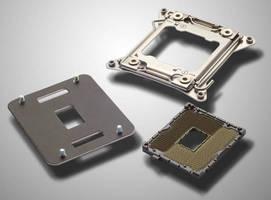 SMT LGA Socket accommodates Intel Core i7 and Xeon 5 CPUs.