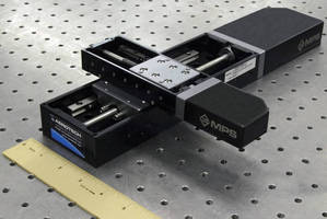 MPS50SL Miniature Linear Positioning Stages Meet the Needs of Space-Constrained Laboratories and Production Floors