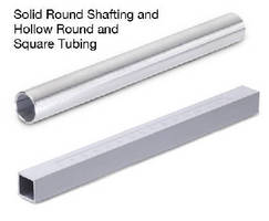 Shafting and Tubing is available in metric sizes.