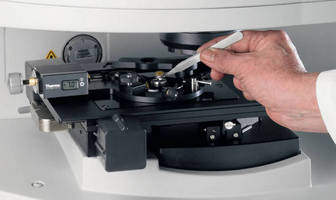 Microscope Accessory accelerates FTIR chemical imaging analyses.