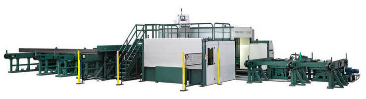 Laser Tube Cutting System delivers high degree of automation.