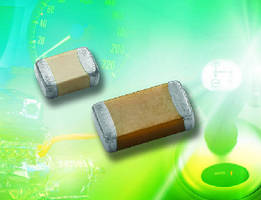 Automotive Surface-Mount MLCCs offer polymer terminations.