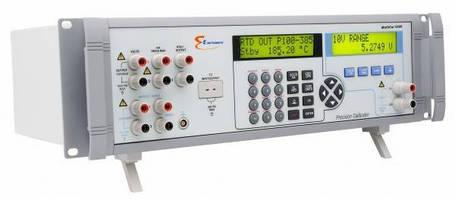Temperature/Pressure/DC Calibrator suits lab applications.