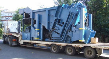 Mobile Press Shears handle high-production scrap processing.