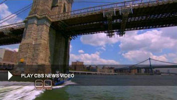 Check It Out! A CBS 60 Minutes Video Clip with Godzilla, The Brooklyn Bridge, and an American Crane Product!