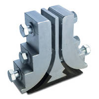 Elevator Belt Splice is constructed of solid-duty aluminum.