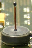 Compact, Flexible Sensor measures temperature and air velocity.