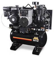 Welding System combines air compressor, generator, welder.