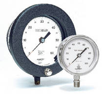 Test Gauges help certify pressure monitoring devices.