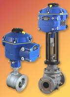 Electric Control Valve Actuators deliver precision operation.