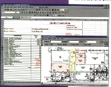 Software provides paperless, electronic plans.