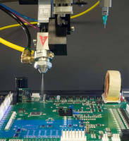 UV/Moisture Cure Conformal Coating helps increase throughput.