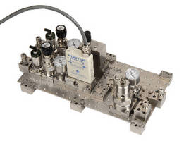 Gas Blending System blends up to 5 component gases. .
