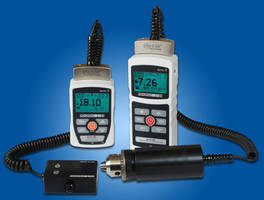 Digital Force/Torque Indicators have interchangeable sensors.