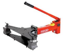 Manual Hydraulic Pipe Benders bend steel and standard gas pipe.