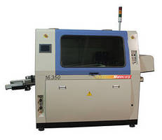 Dual-Wave Solder Machine facilitates lead-free-to-Pb switchover.