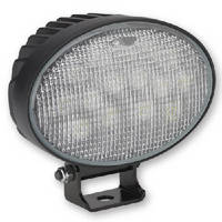 Oval LED Work Lamp produces 3,000 lumens.