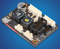 PWM Servo Controller works with DC motors up to 72 W.