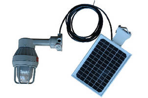 Explosionproof LED Light features solar powered design.
