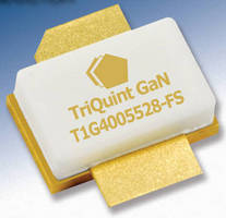 Richardson RFPD Introduces Highly Efficient, 55W GaN RF Power Transistor from TriQuint Semiconductor