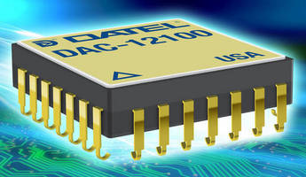 High-Speed 12-bit DAC suits defense, aerospace applications.