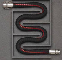 Flexible Petroleum Transfer Hose features 1:1 bend ratio.