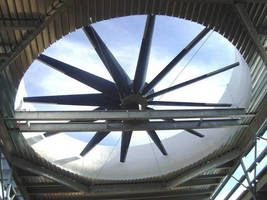 Swifter® Cooling Tower Fans Deliver More Airflow at Power Plant